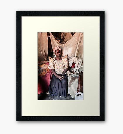 Jaja Framed Print