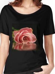 Pink rose. Women's Relaxed Fit T-Shirt
