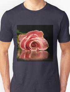 Pink rose. Unisex T-Shirt