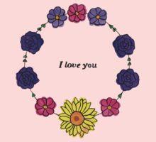 Floral Love Kids Tee