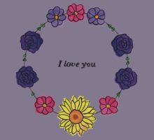 Floral Love Kids Clothes