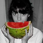 Watermelon I love. by JadedFlorence