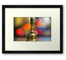 Bell Framed Print
