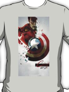 iron man vs captain america  T-Shirt