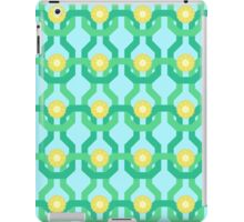 Yellow Flower Knit Pattern iPad Case/Skin