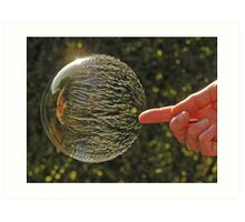 Bubbles don't pop, they RIP! Art Print