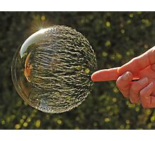 Bubbles don't pop, they RIP! Photographic Print