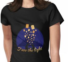I see the light Womens Fitted T-Shirt