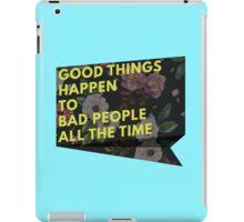 Good Things iPad Case/Skin