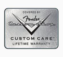 Fender Custom Shop logo by basslinebenny