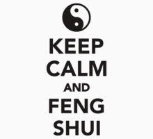 Keep calm and Feng shui Kids Tee