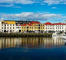 Hobart wharf, Victoria Dock Tasmania by Vanessa Pike-Russell