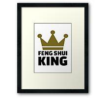 Feng shui king Framed Print