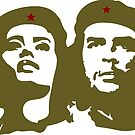 Che  Guevara and Tania Tamara Bunke the only woman Che Loved by SofiaYoushi