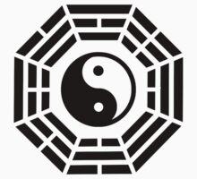 Pakua yin yang Baby Tee