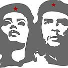 Che Guevara in love with a woman Tania Tamara Bunke  by SofiaYoushi
