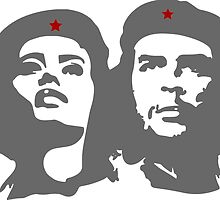 Che Guevara in love with a woman Tania Tamara Bunke  by SofiaYoushi