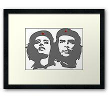 Che Guevara in love with a woman Tania Tamara Bunke  Framed Print