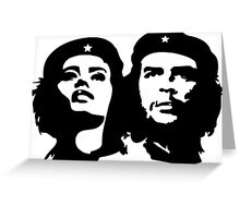 Che Guevara and Tania Tamara Bunke the woman Che Loved 1 Greeting Card