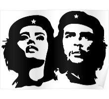Che Guevara and Tania Tamara Bunke the woman Che Loved 1 Poster