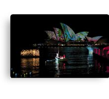 Fire Water #2 (Sydney - Campbells Cove, The Rocks) Canvas Print
