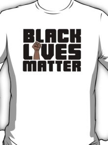 Black Lives Matter (Illustrated Fist) T-Shirt
