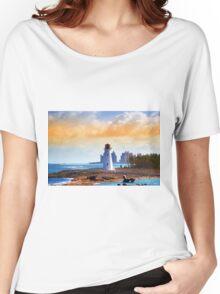 Light House  Women's Relaxed Fit T-Shirt