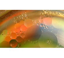 Oil in water #7 Photographic Print
