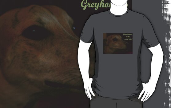 Greyhounds - great pets! by MacLeod