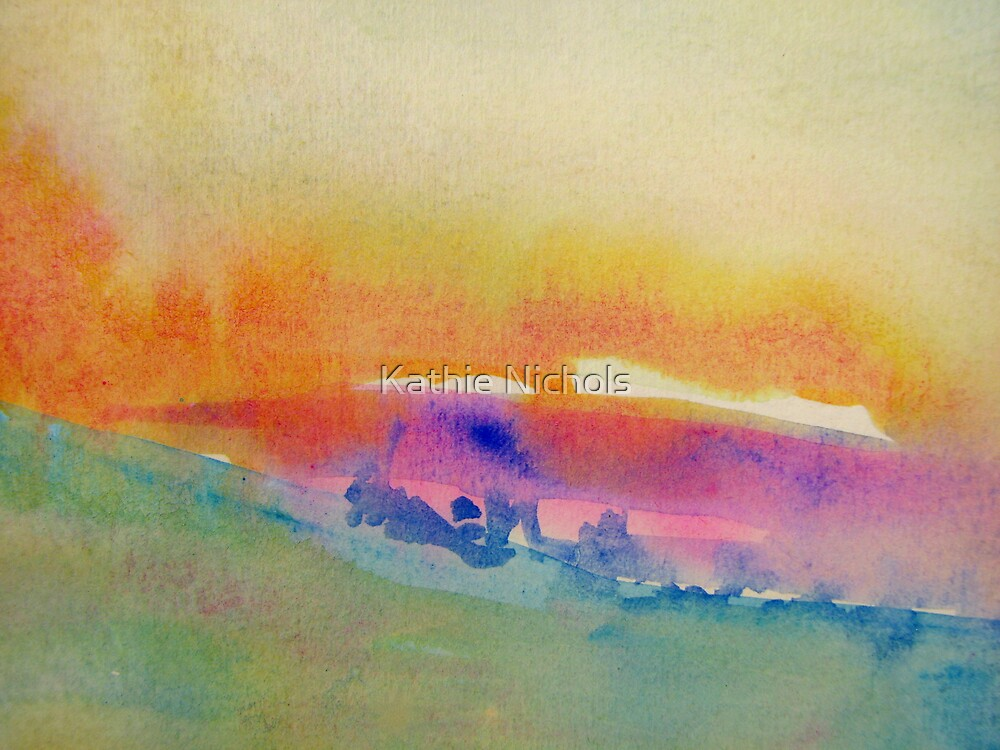 Summer Dusk by Kathie Nichols