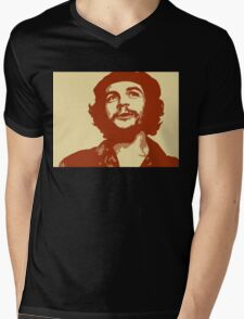 Ernesto Che Guevara smile Mens V-Neck T-Shirt