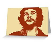 Ernesto Che Guevara smile Greeting Card