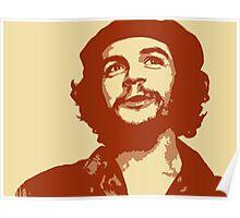 Ernesto Che Guevara smile Poster