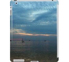 Lake in the evening. iPad Case/Skin