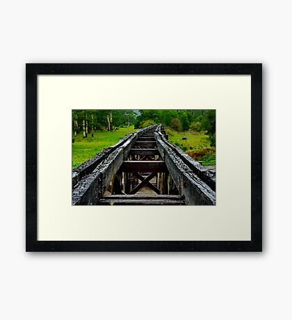 """Crossing The Curdies"" Framed Print"