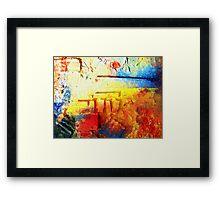 Coloured Birdseye.  Framed Print