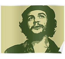 Ernesto Che Guevara happy Poster