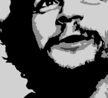 Ernesto Che Guevara black and white portrait Sticker