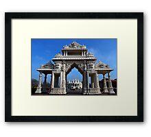 Swami Narayan Temple Framed Print