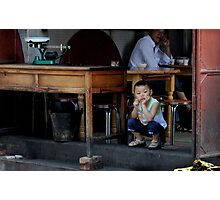 Watching the world go by....... Photographic Print