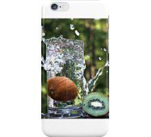 Splash of fresh Kiwi. iPhone Case/Skin