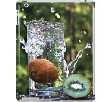 Splash of fresh Kiwi. iPad Case/Skin