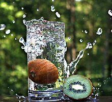 Splash of fresh Kiwi. by Dipali S