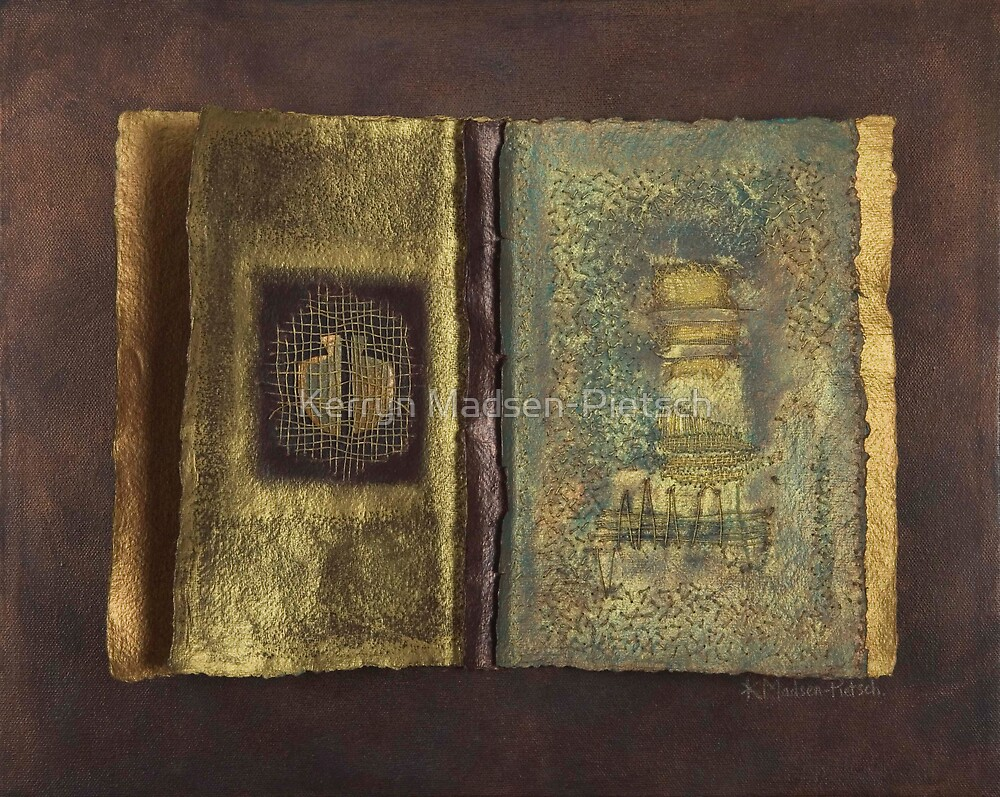 Page Format No.1 Transitional Series by Kerryn Madsen-Pietsch