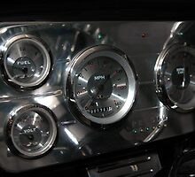 classic dashboard gauges by Nance