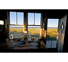Dune Shack Evening at Provincetown, Cape Cod Photographic Print