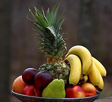 A basket of fruits by Dipali S