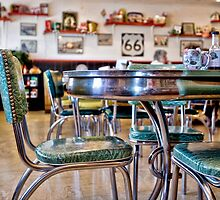 mid point cafe by Andie  Smith
