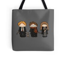 Harry, Ron & Hermione Tote Bag