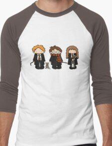 Harry, Ron & Hermione Men's Baseball ¾ T-Shirt